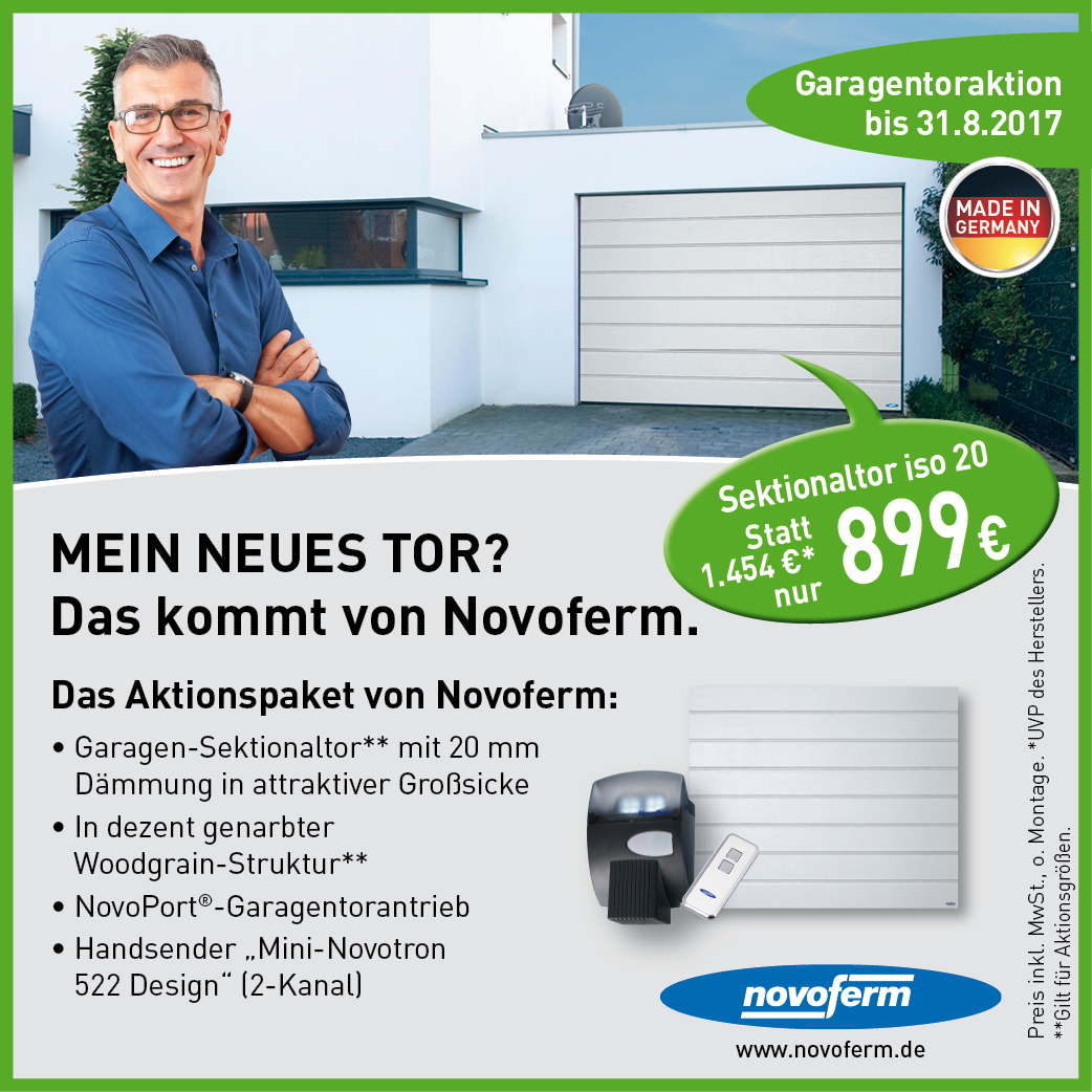 Angebot Meistertormann Fühjahrsaktion