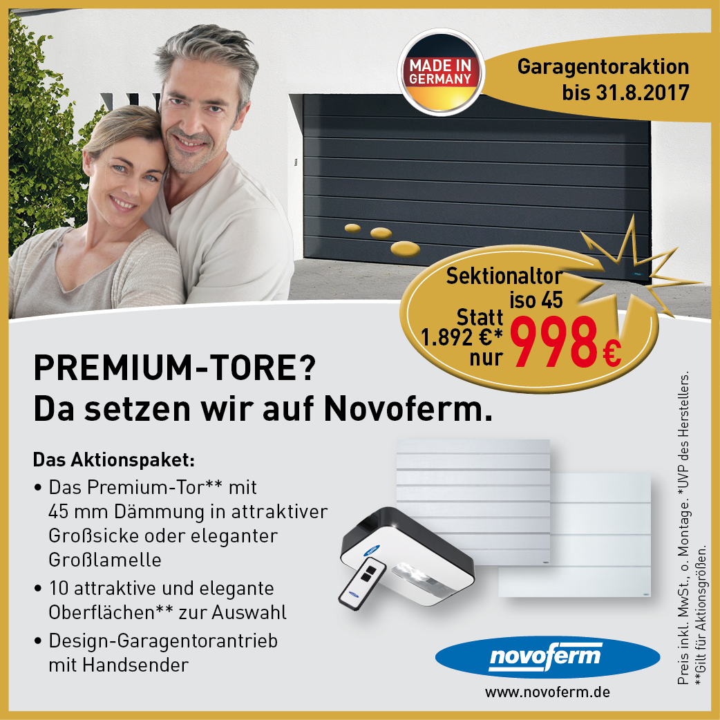 Angebot Meistertormann Herbstaktion